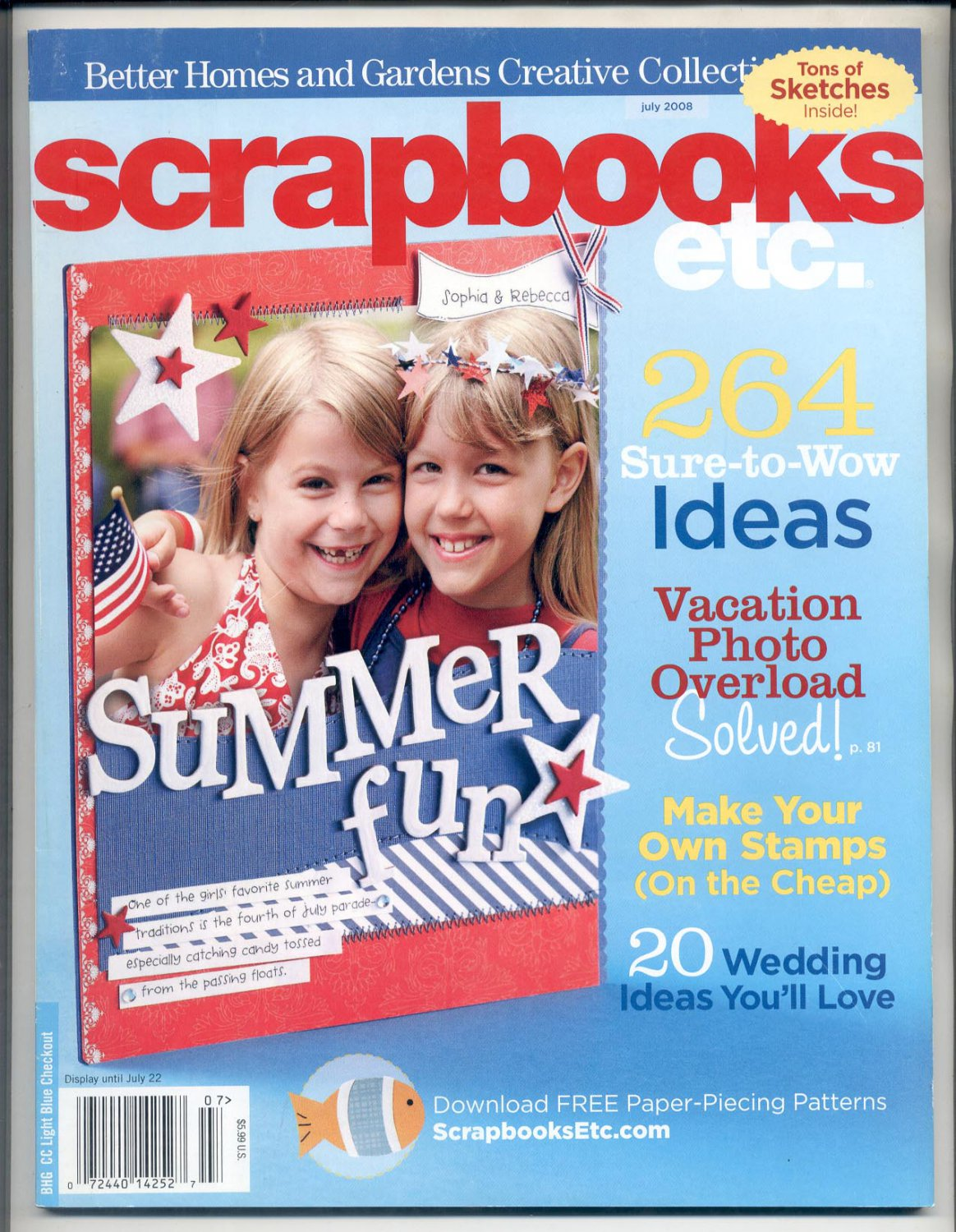 Better Homes Gardens Scrapbooks Etc Back Issue Magazine
