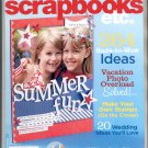 BETTER HOMES & GARDENS SCRAPBOOKS ETC BACK ISSUE MAGAZINE JULY 2008 MINT