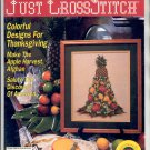 JUST CROSS STITCH BACK ISSUE MAGAZINE OCTOBER 1992 NEAR MINT