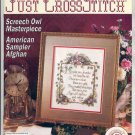 JUST CROSS STITCH BACK ISSUE MAGAZINE FEBRUARY 1993 MINT