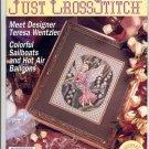 JUST CROSS STITCH BACK ISSUE MAGAZINE APRIL 1993 MINT