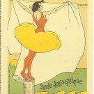 ART NOUVEAU POST CARD LEO GAUSSON PARIS 1893 DETERGENT ADVERTISEMENT 1994 NEAR MINT
