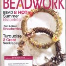 BEADWORK MAGAZINE W/ 20 PROJECTS BACK ISSUE CRAFTS MAGAZINE JUNE JULY 2006 NEAR MINT