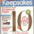CREATING KEEPSAKES SCRAPBOOKING CRAFT MAGAZINE ULTIMATE TOP 10 SPECIAL ISSUE 2007 NMINT