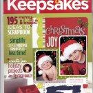 CREATING KEEPSAKES SCRAPBOOKING CRAFT MAGAZINE DECEMBER 2008 NEAR MINT