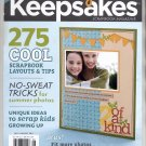 CREATING KEEPSAKES SCRAPBOOKING CRAFT MAGAZINE JULY AUGUST 2011 NEAR MINT