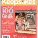 CREATING KEEPSAKES SCRAPBOOKING CRAFT MAGAZINE SEPTEMBER 2011 NEAR MINT #1