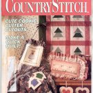 COUNTRY STITCH BACK ISSUE CRAFT MAGAZINE MARCH APRIL 1992 NEAR MINT