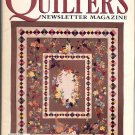 QUILTER'S NEWSLETTER MAGAZINE BACK ISSUE CRAFT MAGAZINE NOVEMBER 1996 NEAR MINT