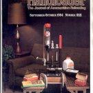 HANDLOADER THE JOURNAL OF AMMUNITION RELOADING BACK ISSUE MAGAZINE # 111 SEPTEMBER OCTOBER 1984 NM