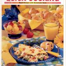 TASTE OF HOME'S QUICK COOKING MAGAZINE ~ SPEEDY KID SNACKS ~ MARCH APRIL 2002 NM