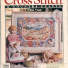 "CROSS STITCH & COUNTRY CRAFTS BACK ISSUE MAGAZINE JANUARY FEBRUARY 1992 NEAR MINT ""A"""