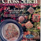 "CROSS STITCH & COUNTRY CRAFTS BACK ISSUE MAGAZINE NOVEMBER DECEMBER 1993 NEAR MINT ""B"""