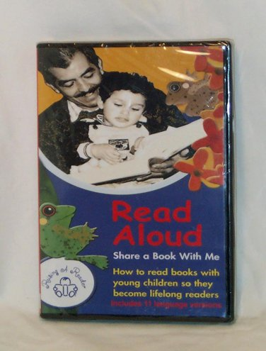 DVD ~ READ ALOUD - SHARE A BOOK WITH ME ~ HOW TO READ TO CHILDREN - 11 LANGUAGE VERSIONS SEALED MINT