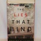 THE LIES THAT BIND BY EDWARD DeANGELO UNABRIDGED AUDIOBOOK ~ 7 CASSETTES 2000 NEAR MINT