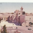 VINTAGE BETHLEHEM THE NATIVITY CHURCH O/S ISRAEL COLOR POSTCARD 1992 UNUSED NMINT # 13