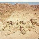 VINTAGE QUMRAN ISRAEL COLOR POSTCARD UNUSED 1992 NEAR MINT # 16