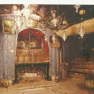 VINTAGE BETHLEHEM THE NATIVITY CHURCH ISRAEL COLOR POSTCARD UNUSED 1992 NEAR MINT # 20