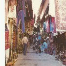 VINTAGE THE OLD CITY MARKET JERUSALEM COLOR POSTCARD UNUSED 1992 NEAR MINT # 22