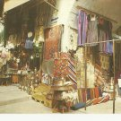 VINTAGE THE OLD CITY MARKET JERUSALEM COLOR POSTCARD UNUSED 1992 MINT # 23