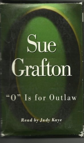 """""""O"""" IS FOR OUTLAW BY SUE GRAFTON ~ KINSEY MILLHONE MYSTERY ABRIDGED 4 CASSETTES 1999 NM"""