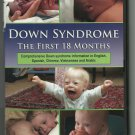 DOWN SYNDROME ~ THE FIRST 18 MONTHS 2003 DVD (ENGLISH/SPANISH/CHINESE) NEAR MINT