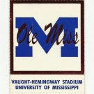 1994 OLE MISS VS MEMPHIS FOOTBALL TICKET STUB 11/05/1994 GAME 5 UNUSED # D20