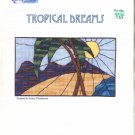ARTFUL IMPRESSIONS PAMPHLET TROPICAL DREAMS CROSS STITCH DESIGNS by AUDREY FITZSIMMONS CRAFT BOOK
