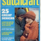 STITCHCRAFT MAGAZINE FEBRUARY 1975 BACK ISSUE KNIT CROCHET EMBROIDERY RUGS VERY GOOD
