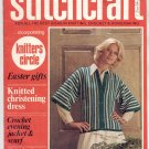 STITCHCRAFT MAGAZINE APRIL 1976 BACK ISSUE KNIT CROCHET EMBROIDERY RUGS NEAR MINT