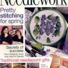 NEEDLEWORK BACK ISSUE CRAFTS MAGAZINE - CROSS STITCH EMBROIDERY NEEDLEPOINT PATCHWORK MAR 1998 MINT