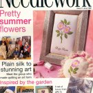 NEEDLEWORK BACK ISSUE CRAFTS MAGAZINE -CROSS STITCH EMBROIDERY NEEDLEPOINT PATCHWORK JUNE 1998 MINT
