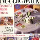 NEEDLEWORK BACK ISSUE CRAFT MAGAZINE-CROSS STITCH EMBROIDERY NEEDLEPOINT PATCHWORK SUMMER 1998 MINT