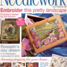NEEDLEWORK BACK ISSUE CRAFTS MAGAZINE -CROSS STITCH EMBROIDERY NEEDLEPOINT PATCHWORK SEPT 1998 MINT