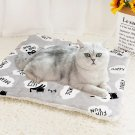 Soft fluffy pet blanket small