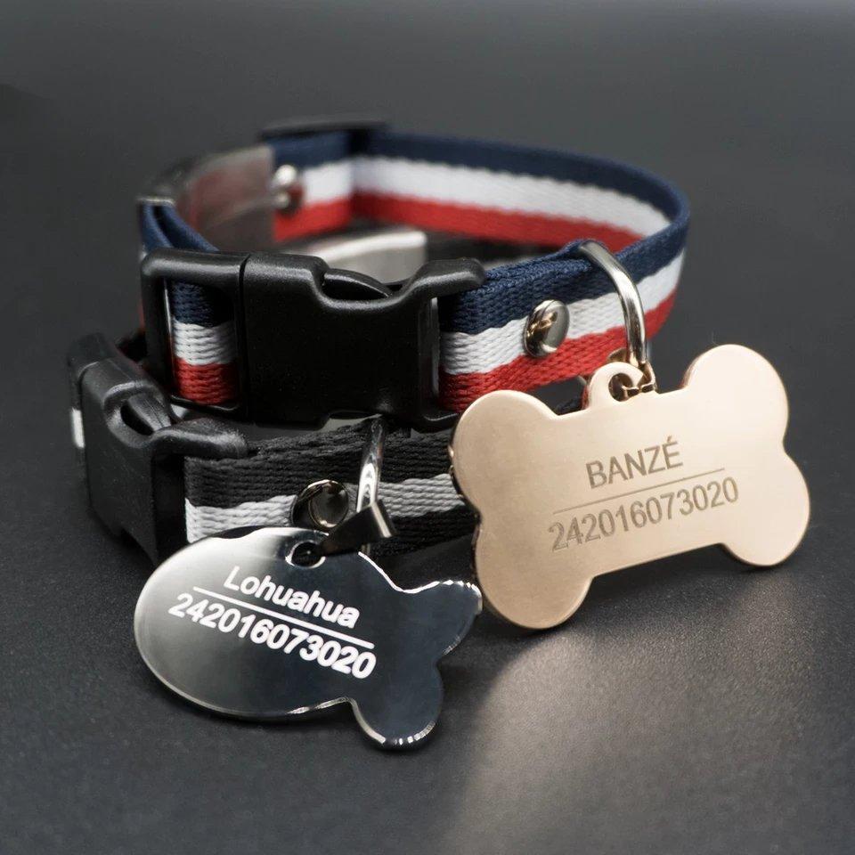 Premium Custom pet Id tags