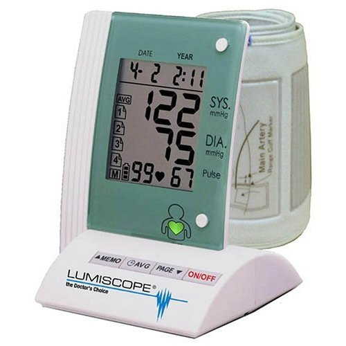 Lumiscope 1134 Deluxe Fully Automatic Upper Arm Blood Pressure Monitor