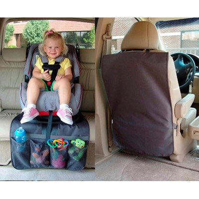 NEW 2-in 1 Car Seat Undermat and Front Seat Kickmat