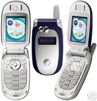 New Unlocked QuadBand GSM Motorola V551 Camera Phone T-mobile / AT&T