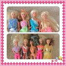 Lot of 3 Vintage Mattel Barbie and Friends Dolls Outfits 1976 1966 Flower Fiaste