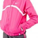 Nike Youth Dri Fit Pink Gray Tennis Border Woven Warm Up Jacket Pants XS 449182