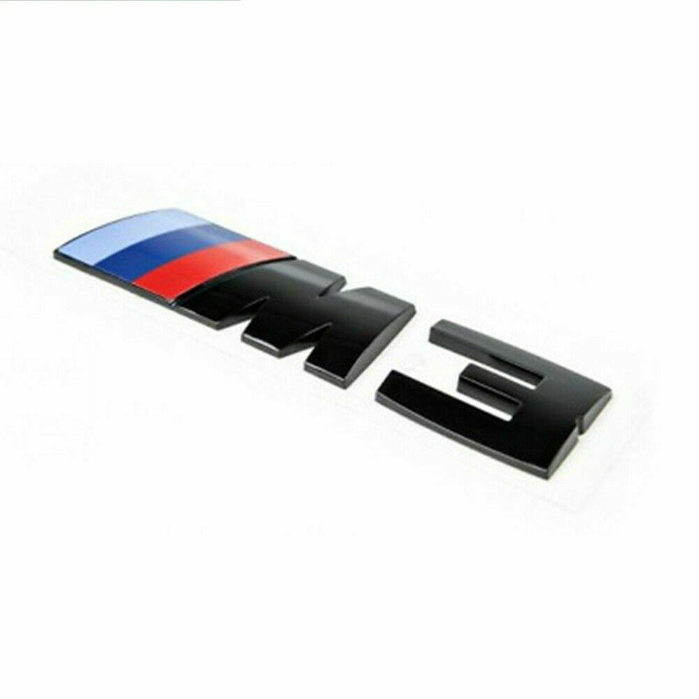 M3 Black Logo Sticker Emblem Sign