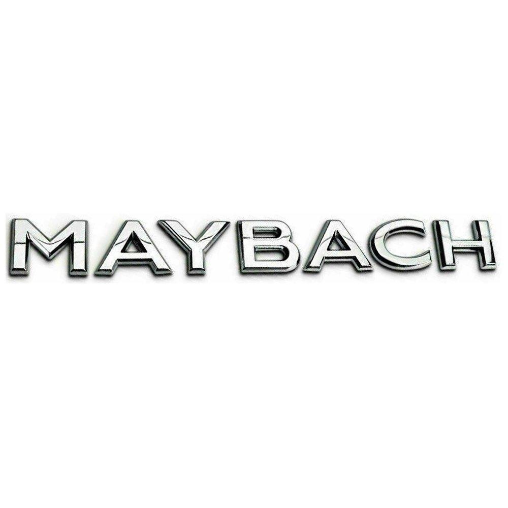 MAYBACH Sticker Logo 3D Emblem Exterior Design Sign Trunk
