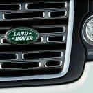 Land Rover Front Back Green Silver Emblem Sticker Logo Badge 3D