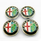 60mm Alfa Romeo Hubcap Wheel Cover Center Cap Set