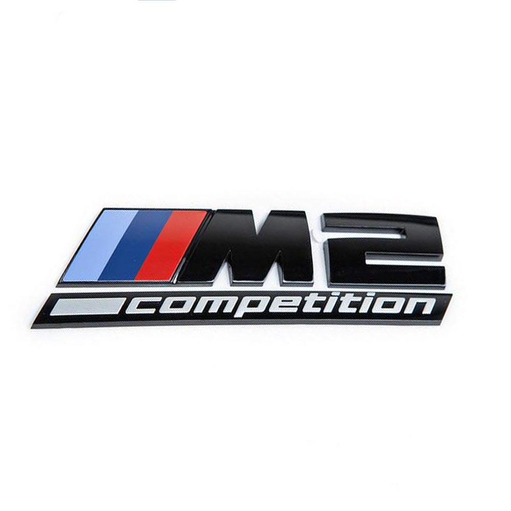 M2 Competition Black Sticker Emblem Logo Trunk Back Sign