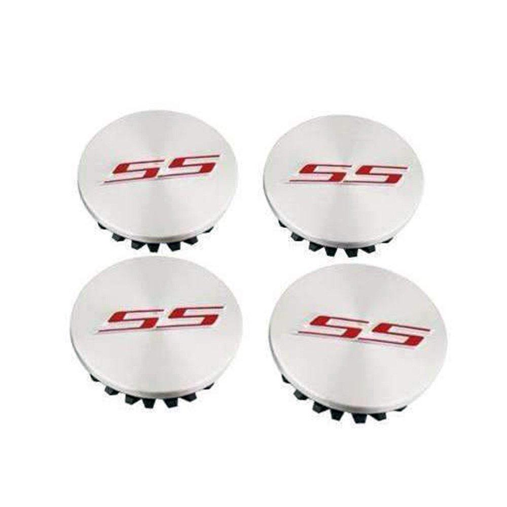 Chevrolet SS Silver Hubcap Wheel Cover Center Cap Set