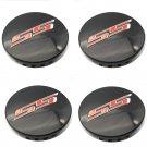 Chevrolet SS Black Red Hubcap Wheel Cover Center Cap Set