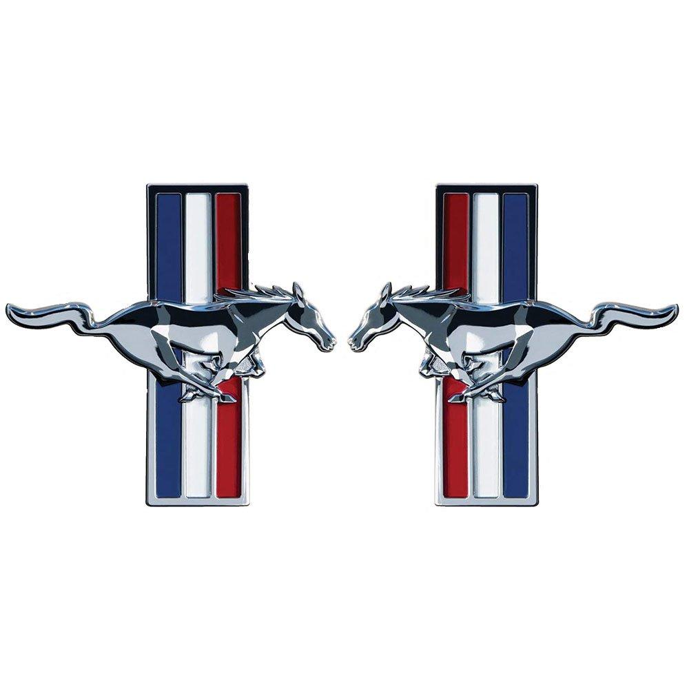 Mustang Side Emblem Sticker Logo Door Badge Sign