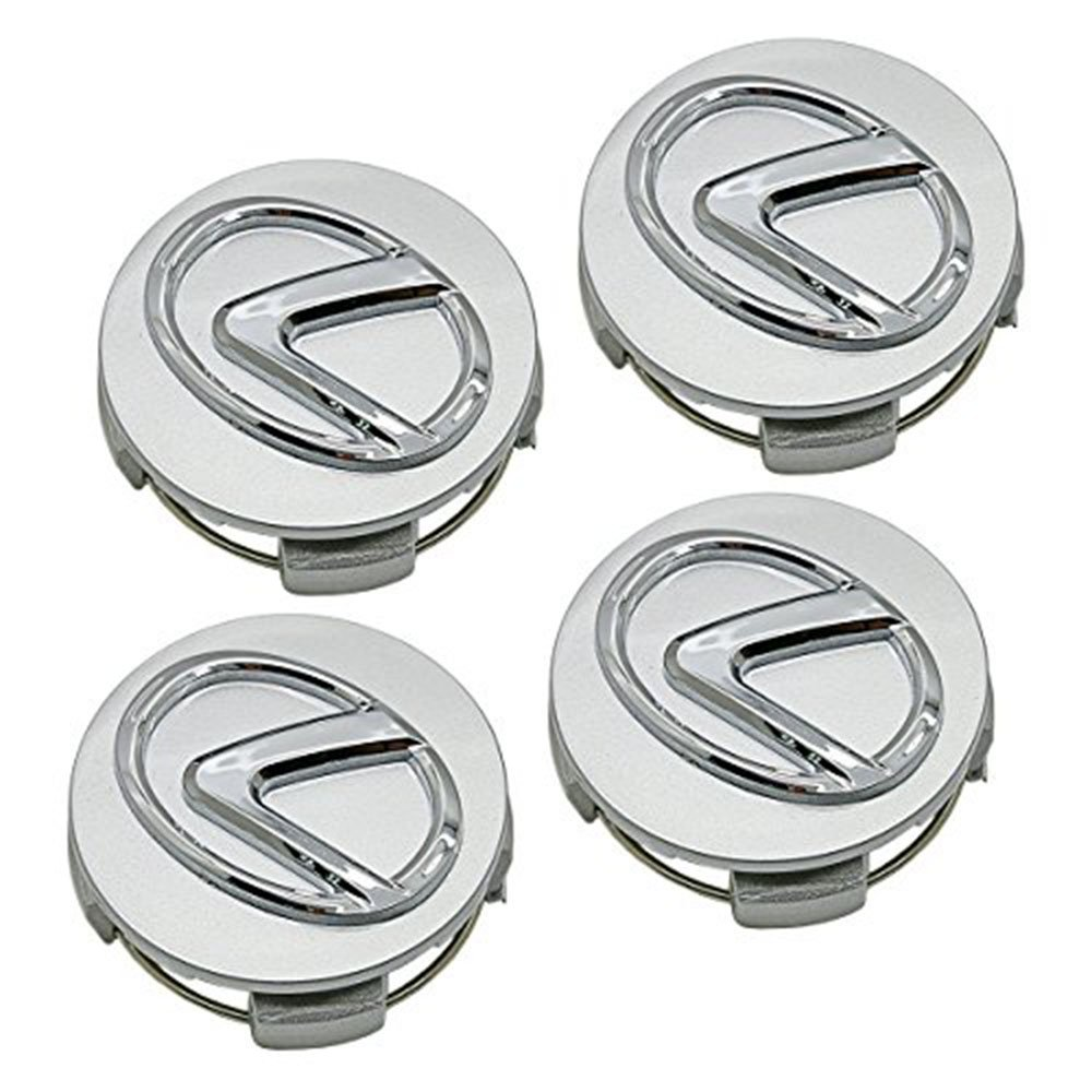 62mm Lexus Silver Hubcap Wheel Cover Cap Center Logo